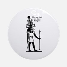 Old Time Religion Ornament (Round)