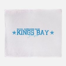 NSB Kings Bay Throw Blanket