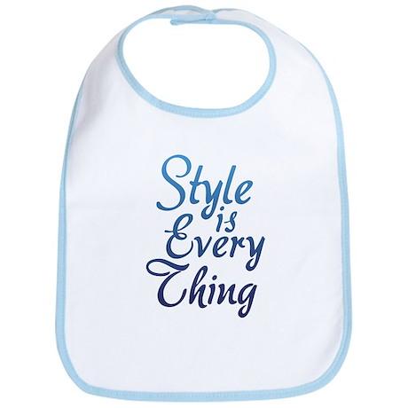 Style is Everything Bib