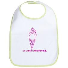 Ice Cream Cone Mermaid Bib