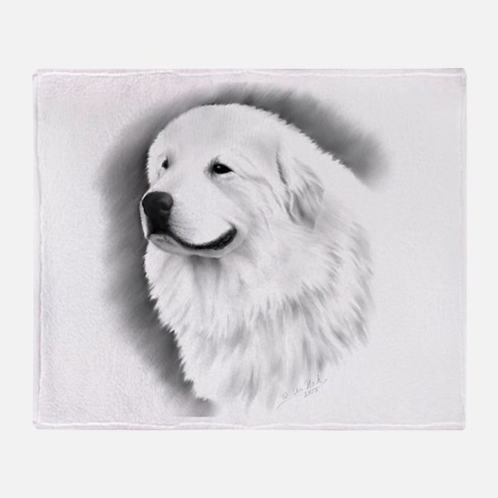Cute Akc dog breed Throw Blanket