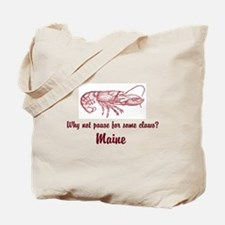 Pause for Claws Tote Bag