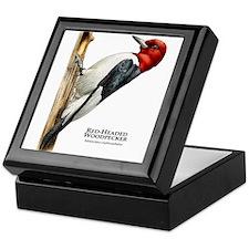 Red-Headed Woodpecker Keepsake Box
