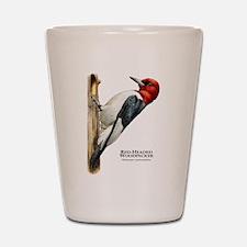 Red-Headed Woodpecker Shot Glass