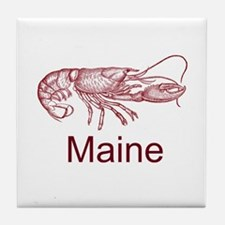 Maine Tile Coaster
