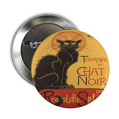 """Le Chat Noir 2.25"""" Button (10 pack)"""
