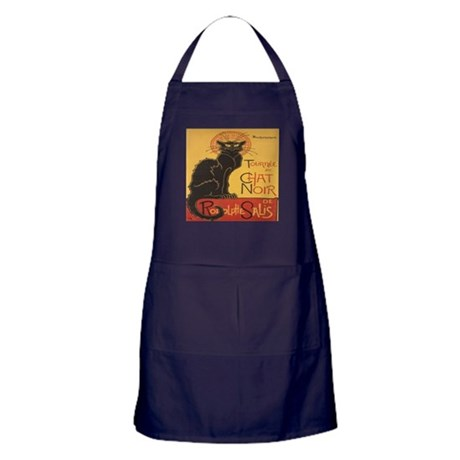 Le Chat Noir Apron (dark)