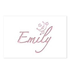 Emily Moon with Stars Postcards (Package of 8)