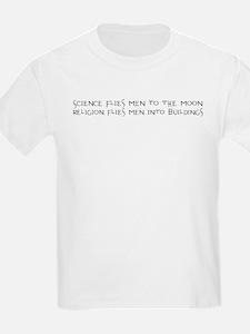 Science Flies Men to the Moon T-Shirt