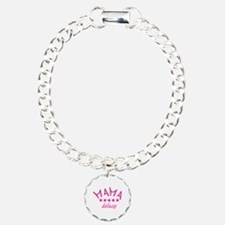 mama deluxe Charm Bracelet, One Charm