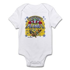 Captain Planet and Planeteers Infant Bodysuit