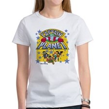 Captain Planet and Planeteers Tee