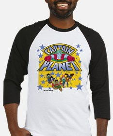 Captain Planet and Planeteers Baseball Jersey