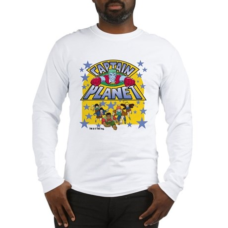 Captain Planet and Planeteers Long Sleeve T-Shirt