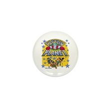 Captain Planet and Planeteers Mini Button (10 pack