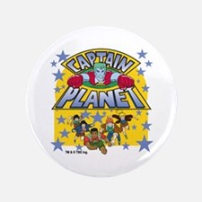 "Captain Planet and Planeteers 3.5"" Button"