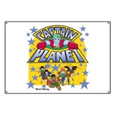 Captain Planet and Planeteers Banner