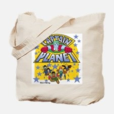 Captain Planet and Planeteers Tote Bag