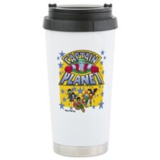 Captain Planet and Planeteers Travel Mug