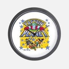 Captain Planet and Planeteers Wall Clock