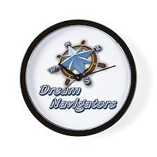 Dream Navigators Logo Wall Clock