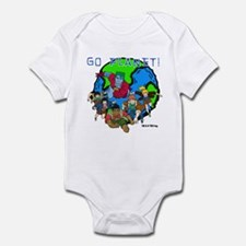 Captain Planet GO PLANET Infant Bodysuit