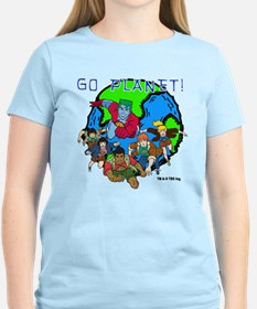 Captain Planet GO PLANET T-Shirt