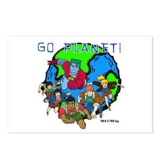 Captain Planet GO PLANET Postcards (Package of 8)