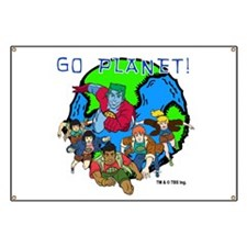Captain Planet GO PLANET Banner