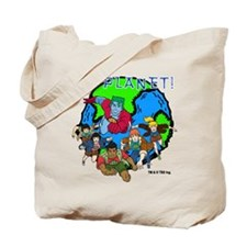 Captain Planet GO PLANET Tote Bag