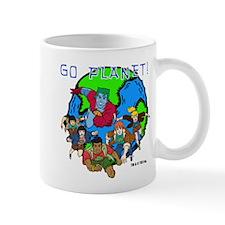 Captain Planet GO PLANET Mug