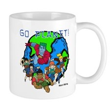 Captain Planet GO PLANET Mug