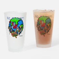 Captain Planet GO PLANET Drinking Glass