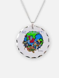 Captain Planet GO PLANET Necklace