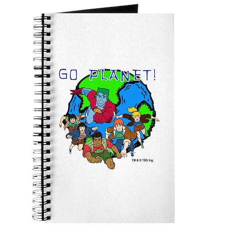 Captain Planet GO PLANET Journal
