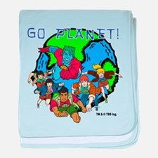 Captain Planet GO PLANET baby blanket