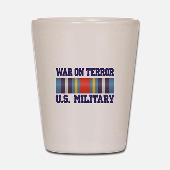 War On Terror Shot Glass