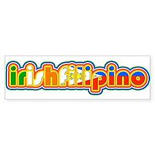 IrishFilipino Bumper Sticker
