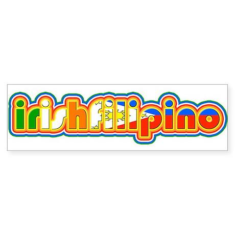 IrishFilipino Sticker (Bumper)