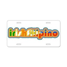 IrishFilipino Aluminum License Plate