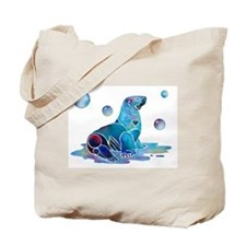 Salty Seal Tote Bag