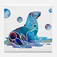 Salty Seal Tile Coaster