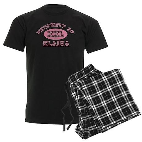 Property of Elaina Men's Dark Pajamas