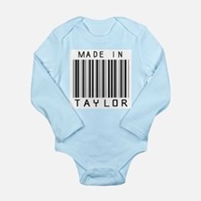 Taylor Barcode Body Suit