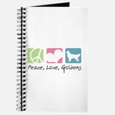 Peace, Love, Goldens Journal
