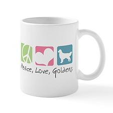 Peace, Love, Goldens Mug