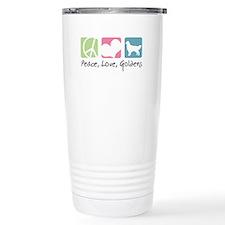 Peace, Love, Goldens Travel Mug