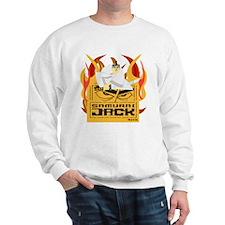 Samurai Jack Flames Sweatshirt