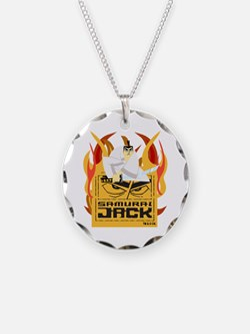 Samurai Jack Flames Necklace