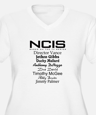 NCIS Characters T-Shirt